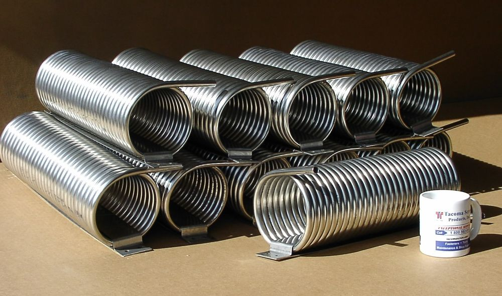 Large Stainless Steel Coils