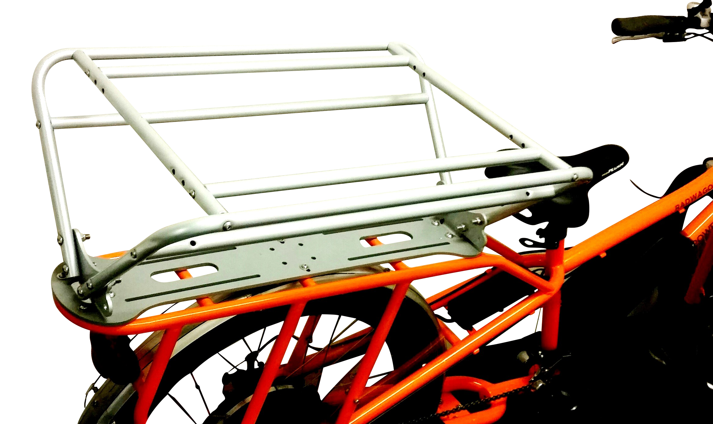 collapsible aluminum bike rack