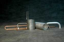 Sample of finished tube bending products